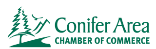 conifer co chamber of commerce - logo